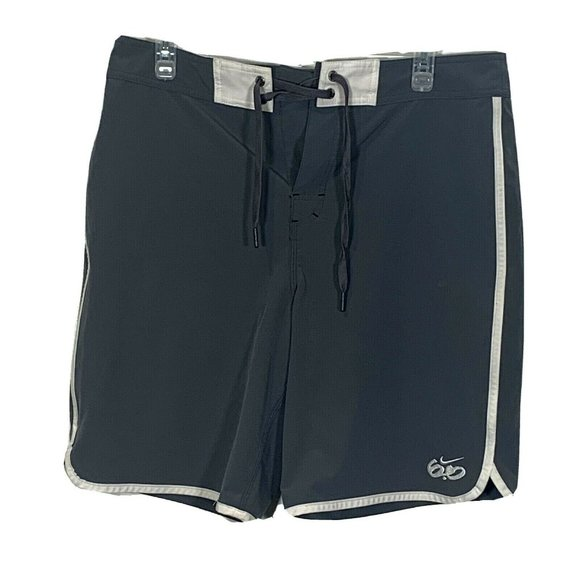 Nike 6.0 Board Shorts Swim Trunks Sz 32 410504-021